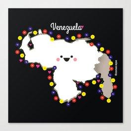 Venezuela en flor Canvas Print