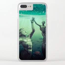 Gods of the Deep Clear iPhone Case