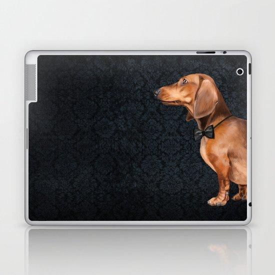 Elegant dachshund. Laptop & iPad Skin