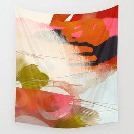 abstract landscape phantasy Wall Tapestry