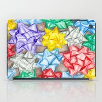 bows iPad Cases featuring Bows by Lady Tanya bleudragon