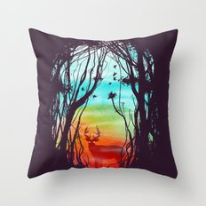 Lost In My Dreams Throw Pillow