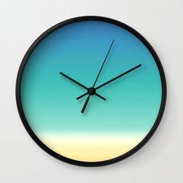 Sea Beach Wall Clock
