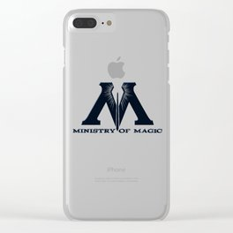 Ministry of Magic Clear iPhone Case