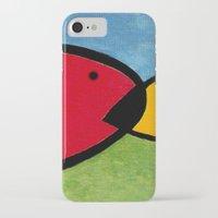 1975 iPhone & iPod Cases featuring La pesca de un Miró by Fernando Vieira