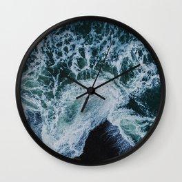 Sea 9 Wall Clock