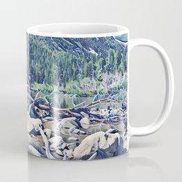 Golden Retriever. Mountain Lake Trail Coffee Mug