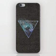 Surf Heaven Aqua & Concrete iPhone & iPod Skin