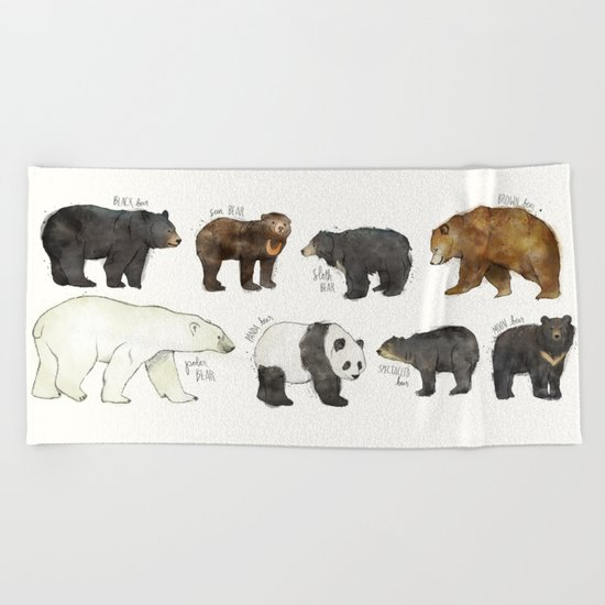 Bears Beach Towel
