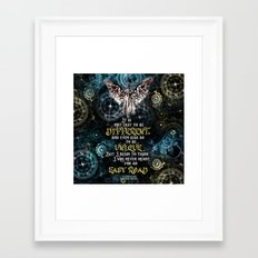 Infernal Devices - Easy Road Framed Art Print