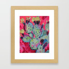 Live Wire Framed Art Print