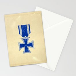 Vintage Iron Cross Stationery Cards