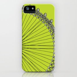 London Town - The Eye iPhone Case