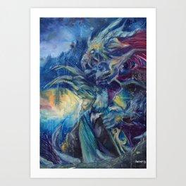 Dragonknight Art Print