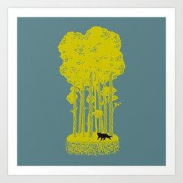 Territory Art Print