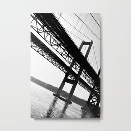 a bridge over troubled waters Metal Print