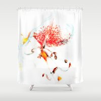 soul Shower Curtains featuring Soul. by Mary Berg