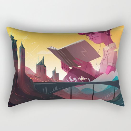 Fantasy Rectangular Pillow