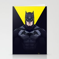bat man Stationery Cards featuring Bat man by Muito