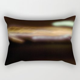 Orange Light Rectangular Pillow