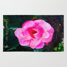 Pink Roses Don't Get Any Love - Pink Rose Rug