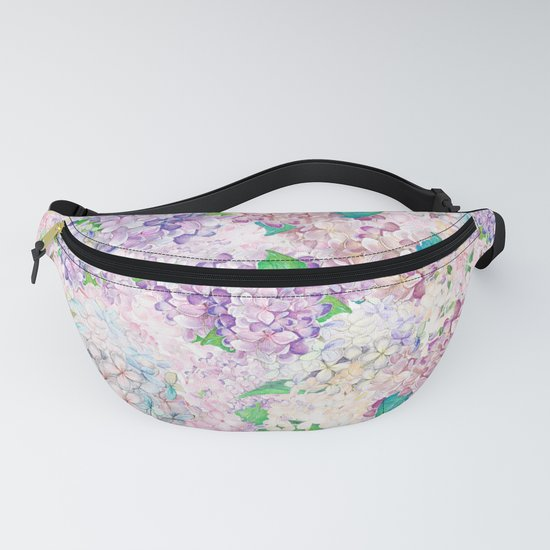 Pastel Purple and blue Lilac & Hydrangea - Flower Design by originalaufnahme