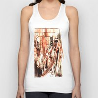 silent hill Tank Tops featuring Silent Hill by Joseph Silver