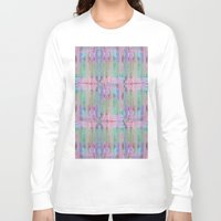 blankets Long Sleeve T-shirts featuring Many windows - Many stories by Roxana Jordan