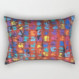 Abstract - The Truth in the Ashes Rectangular Pillow