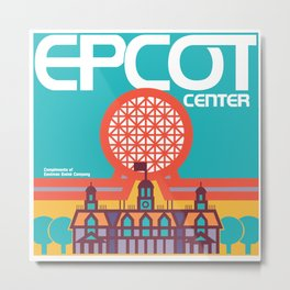 EPCOT Center Metal Print