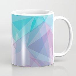 Stained Glass - Blue Purple Coffee Mug