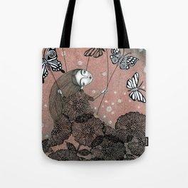 Night Garden (1) Tote Bag