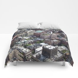 Roofs of New York. Comforters