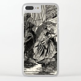 A Beastly Scourge? Clear iPhone Case