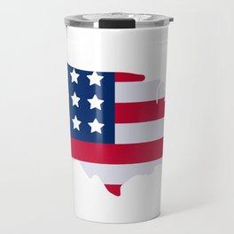 American Texas Mama Cowboy Novelty Travel Mug