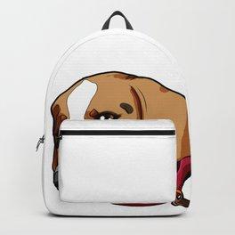 Beagle Dog Puppy Doggie Present funny Cartoon Backpack