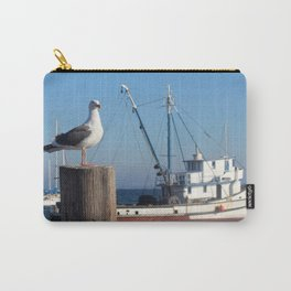 Monterey Bay seagull Carry-All Pouch