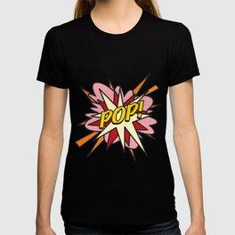 POP Comic Book Cool Pop Culture Graphic T-shirt