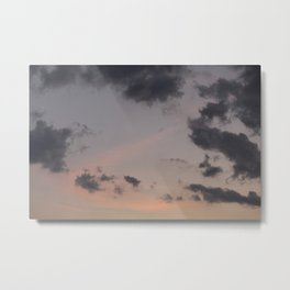 Out | sky photography Metal Print