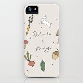 Delicate and strong iPhone Case