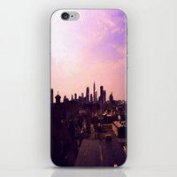 cleveland iPhone & iPod Skins featuring Cleveland Skyline by Toni Tylicki
