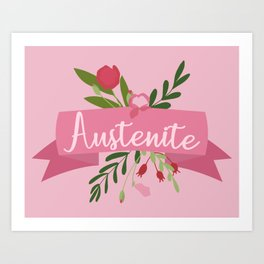 Austenite II Art Print