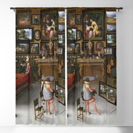 Hieronymous Francken II - The Sciences and Arts Blackout Curtain