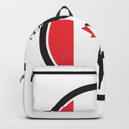 Canadian Tree Surgeon Canada Flag Icon Backpack
