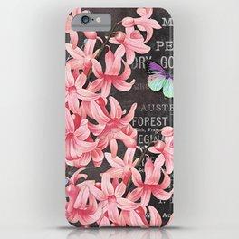 Vintage Flowers #1 iPhone Case