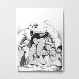 Statue-tory Metal Print