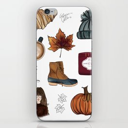 Fall Feelings iPhone Skin