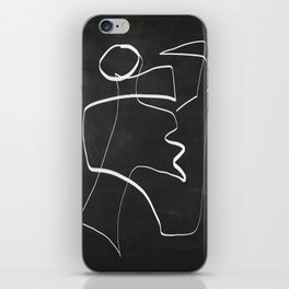 Abstract line art 6/2 iPhone Skin