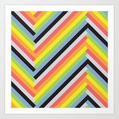 BP 36 Stripes Art Print