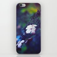 hydrangea iPhone & iPod Skins featuring Hydrangea by Nikita Gill